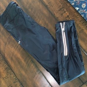 Long gap work out spandex